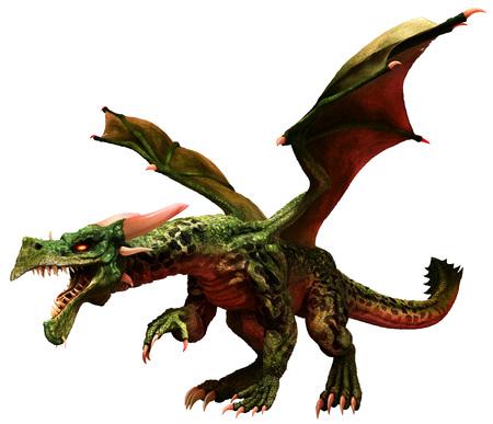 Green dragon Stok Fotoğraf