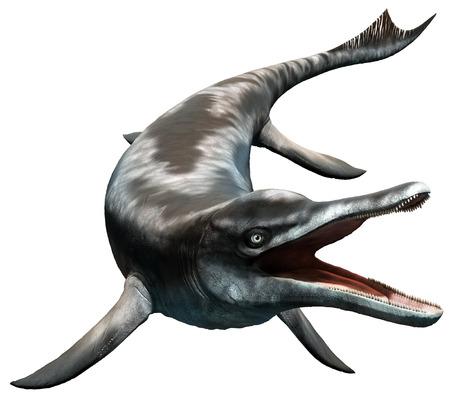 Cymbospondylus illustration Stock Photo