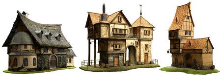 Fantasy gebouwen