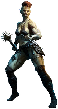 Goblinoid warrior