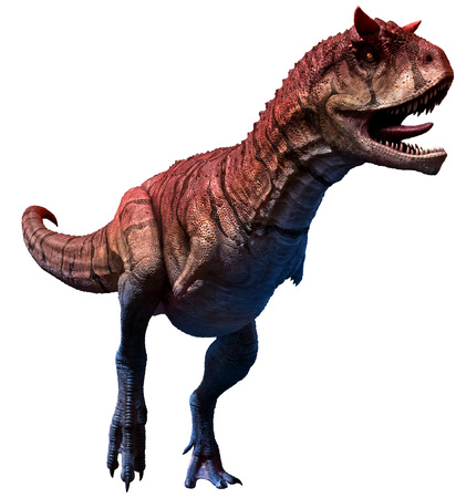 Carnotaurus sastrei 3D illustration