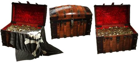 Pirate treasure chests
