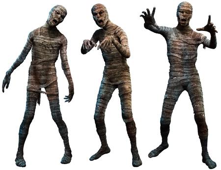 3D Mummies Imagens