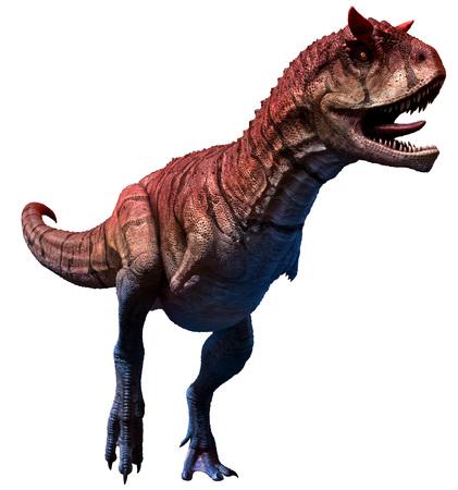 Carnotaurus sastrei 3D illustration