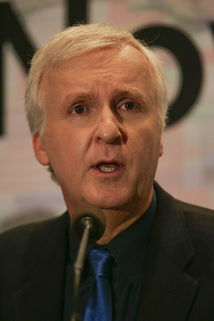 screenwriter: Canadian filmmaker James Cameron special lecture in Seoul South Korea Editorial
