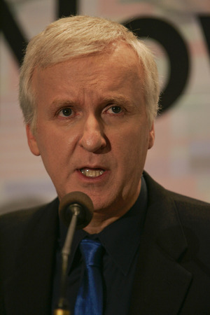 filmmaker: Canadian filmmaker James Cameron special lecture in Seoul South Korea Editorial