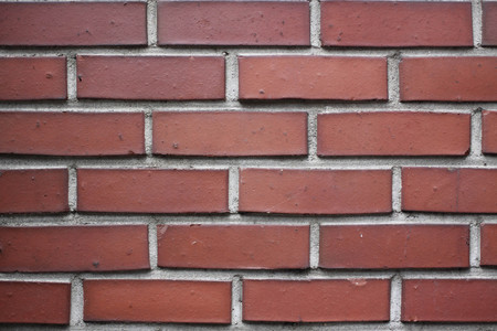adobe wall: A Red brick wall in Seoul Stock Photo