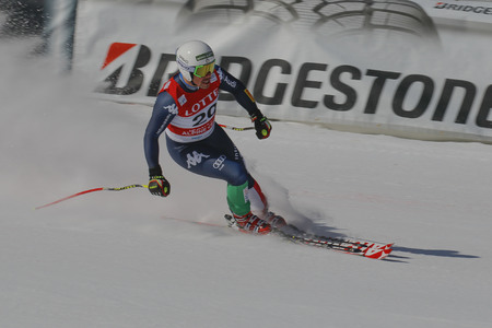 olympic sports: Fill Peter of ITA action during an AUDI FIS Ski World Cup Mens Downhill Final Race, Also a test event for the Pyeongchang 2018 Winter Olympics, at the Jeongseon Alpine Centre in Jeongseon, South Korea.