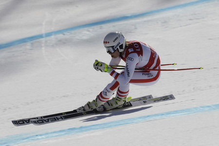 SCHEYER Christine of Austria action during an AUDI FIS SKI WORLD CUP  201617 Jeongseon in Pyeong Chang, South Korea.
