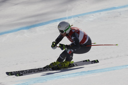 STUFFER Verena of Italy action during an AUDI FIS SKI WORLD CUP  201617 Jeongseon in Pyeong Chang, South Korea.