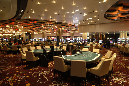 View of Casino hall. Editorial