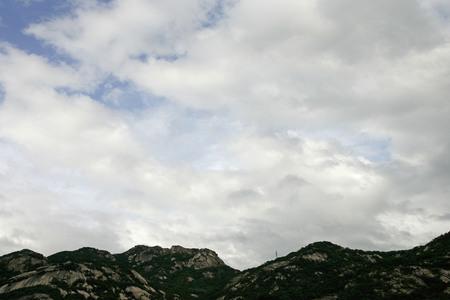 cumulonimbus: Very dramatic cumulonimbus clouds