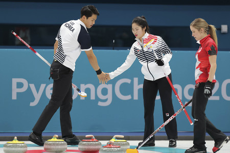 Olympic Curling Mix Double Session