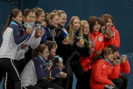 Olympic Curling Womens Final Match