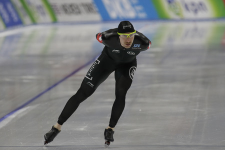 Ted-Jan BLOEMEN of Canada action during the ISU WORLD SINGLE DISTANCES  CHAMPIONSHIPS 2017 Men 5000 Race at Gangneung Oval, Gangneung, South Korea.