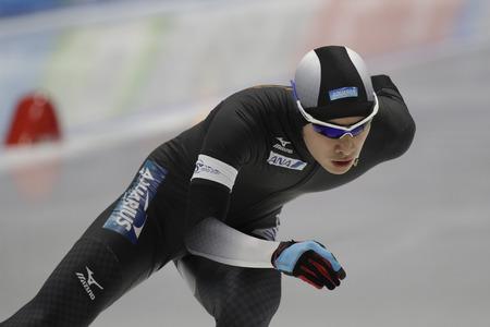 Ryosuke TSUCHIYA of Japan action during the ISU WORLD SINGLE DISTANCES  CHAMPIONSHIPS 2017 Men 5000 Race at Gangneung Oval, Gangneung, South Korea. Redactioneel