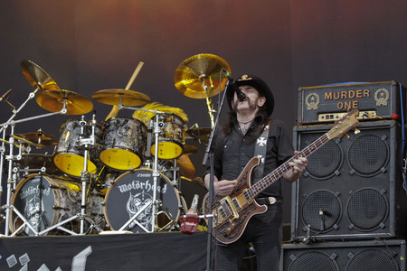 July 26, 2015 - South Korea, Ansan: Motorohead performs on the stage during the Ansan M Valley Rock Festival. Rock Festival is held on every july annual music festival. (Ryu Seung-il  Polaris)