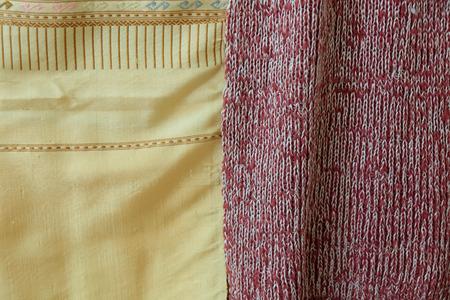 thai silk: Thai silk Bangkok Thailand Stock Photo