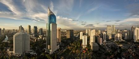 Jakarta City Panoramic in high detail photo