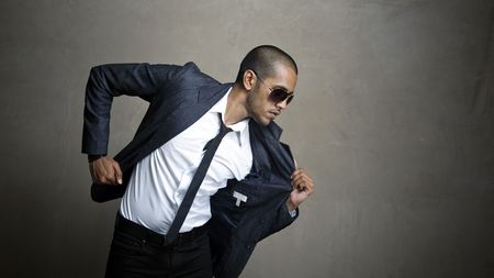 indian sexy: Business man is ready to get to his meeting