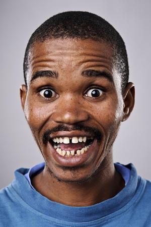 gente loca: Una cara muy divertida capturado en mayor detalle (ver lista para m�s de esta serie)