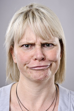 A real funny face captured in high detail Stock Photo - 10142452