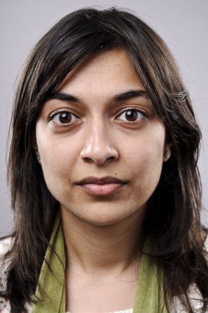 Young attractive Indian girl, highly detailed portrait photo