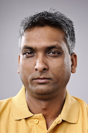 Must see full size, great detail on Indian man portrait Stock Photo - 10142314