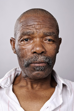 Amanzingly high detailed portrait of an African face, must see at full size. Stock Photo - 10191151