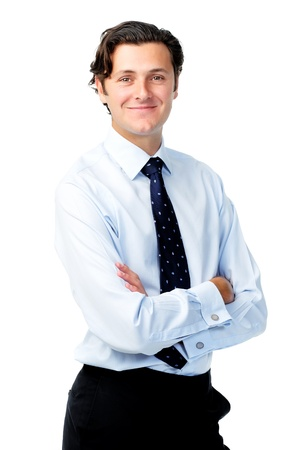 Confident portrait of a professional in a shirt and tie  Stock Photo - 11598347