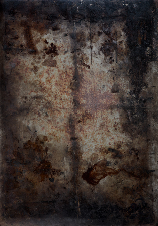 blemishes: artistic dark background texture with metal and blemishes