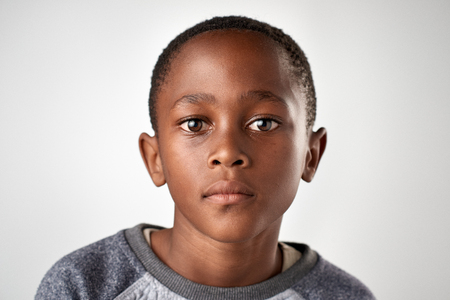 portrait of young african black boy Stok Fotoğraf - 65513409