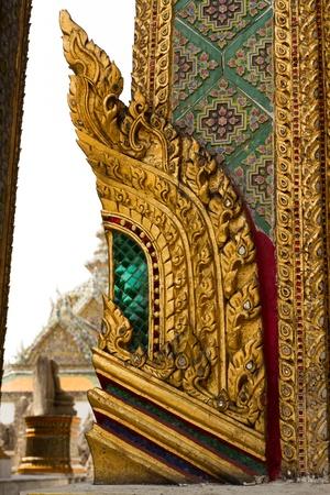 elaborate: elaborate decoration in wat phra keaw