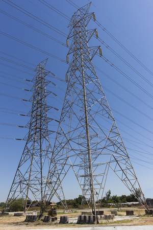 High Voltage electric lines