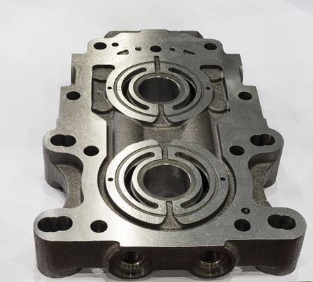 Pump casting part manufacturing by high accuracy cnc machining machine,with rust protection,oil coated, high technology automotive part industrial, precision part,cutting process,casting process