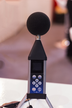 profile measurement: a sound level meter and analyzer ; selective focus