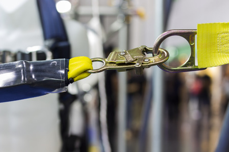 Carabiner voor Climbing harness; Quick Release; Detailopname