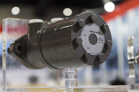 Radial Hydraulic Motor ; selective focus