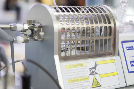 high tech: Chemical Coulometric Moisture Meter ; selective focus