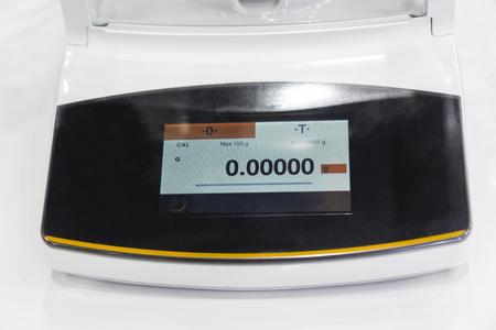 laboratorium weegschaal met hoge precisie