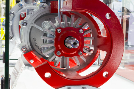 detail of industrial centrifugal pump Stock fotó