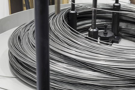 Steel rod raw material for bending machine