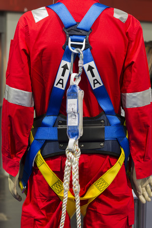 Industrial safety harness  Stock Photo