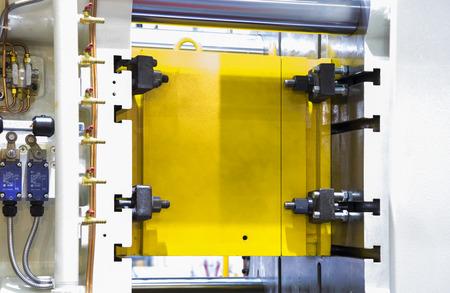 Detail of aluminum high pressure die casting machine