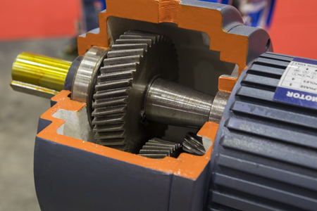 Cross Section of  industrial pump for heavy duty equipment