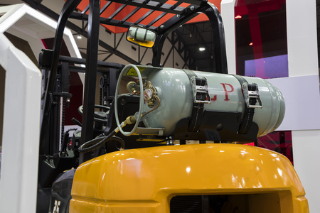 Gas fuel Cylinder for  industrial forklift truck