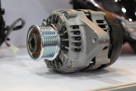 an alternator in engine to generate electric