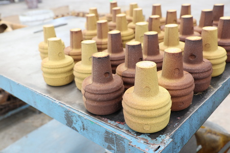 Resin Coated Sand products for casting process 写真素材