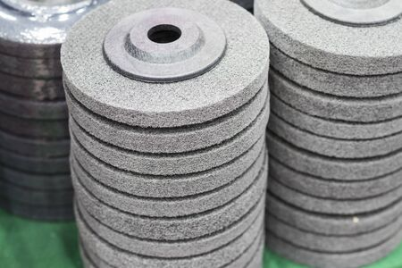 the industrial scouring wheel pad ; for surface treatment