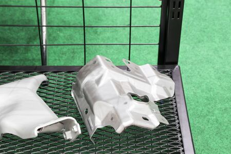 steel stamping part in basket for automotive industry